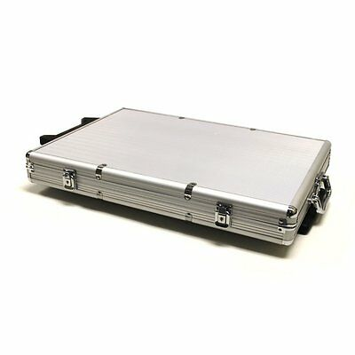 Brybelly 1000-Count Aluminum Rolling Poker Chip Case