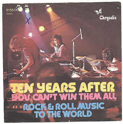 SOLO COPERTINA - COVER ONLY - TEN YEARS AFTER - You can't win them all - GER VG