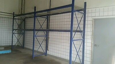 Pallet rack shelving used complete JUST REDUCED