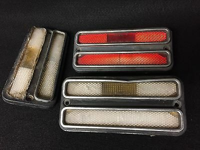 70-81 Firebird Side Marker Light Lot,front,rear,amber,clear,red,turn,camaro