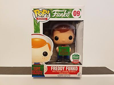Funko Pop Vinyl No 09 Freddy Funko Funko Shop Exclusive