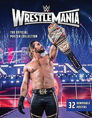 WWE: Wrestlemania: the official Poster C New Paperback Book