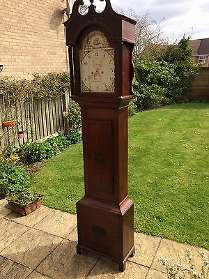 Oak Long case Clock Circa 1820