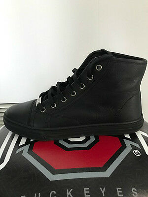 Authentic GUCCI Women's Leather High Top Black Sneakers 36+ / US 7.5 WORN TWICE!