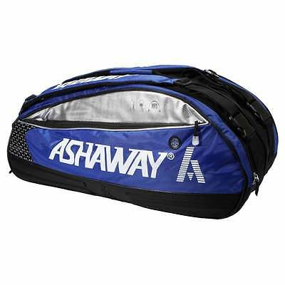 Ashaway Triple Thermo Racket Bag (Red Or Blue)