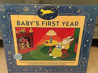 Goodnight Moon Baby's First Year Calendar NIP Shrink Wrapped, Includes Stickers