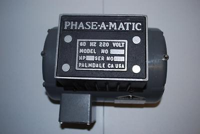 Phase-A-Matic Rotary Phase Converter - Model R-2