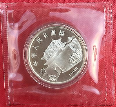 China1989 lunar snake 10Y silver coin in original seal