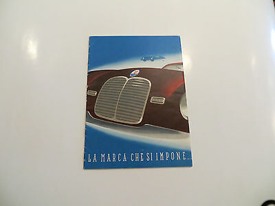 Very Rare Maserati A-6 Brochure--circa 1948--price reduction