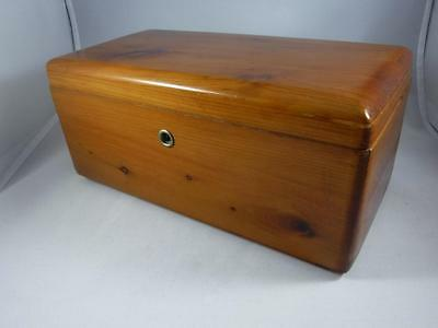 Vintage Lane Cedar Chest Salesman's Sample Mini Wooden Trinket or Jewelry Box