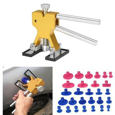 Portable Auto Car Body Dent Ding Remover Repair Puller 28 Tabs Tools PDR Lifter