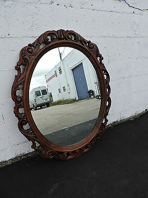 Victorian Carved Wall Mirror 6541
