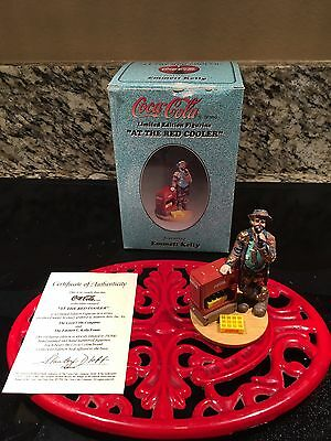 Lot of 3 Coca-Cola Coke Emmett Kelly Limited Edition Figurines in Box