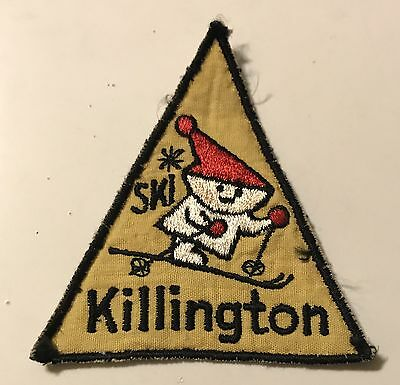 KILLINGTON Vintage Skiing Ski Patch VERMONT VT Resort Travel Embroidered