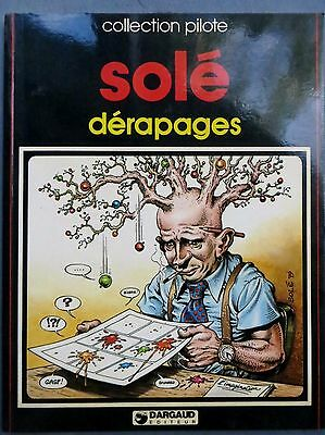 Collection Pilote : Dérapages, Solé, Dargaud 1979