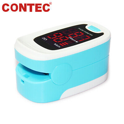 2018 Fingertip SpO2 Heart Rate Monitor Finger Pulse Oximeter with Case & Battery