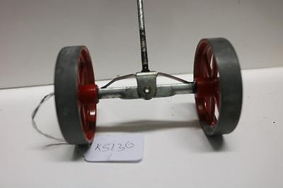 Mamod Live Steam Tractor Front Wheels And Axel  Ks136