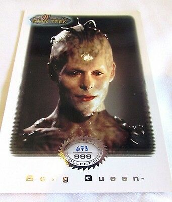 Star Trek Women Of Star Trek In Motion Archive Collection AC2 Borg Queen