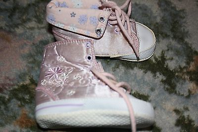 Girls Pram Shoes Boots Trainers 3-6 months