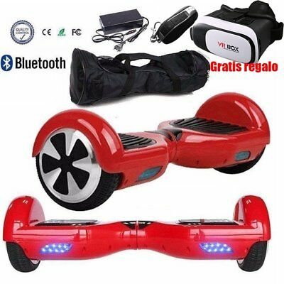 Scooter Patinete Electrico Skate Self balancing Hoverboard Bluetooth Bolso 6.5""