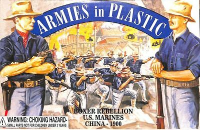 Armies in Plastic 1:32 54mm Boxer Rebellion US Marines China 1900 Figure #5508
