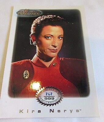 Star Trek Women Of Star Trek In Motion Archive Collection AC 10 Maj. Kira Nerys