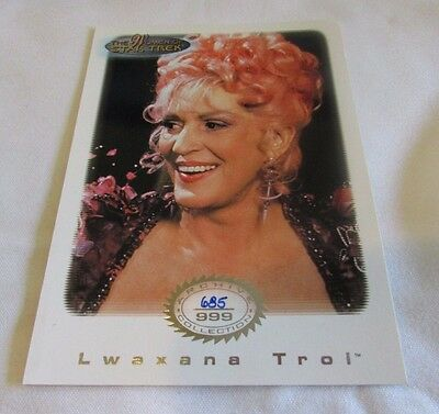 Star Trek Women Of Star Trek In Motion Archive Collection AC 11 Lwaxana Troi