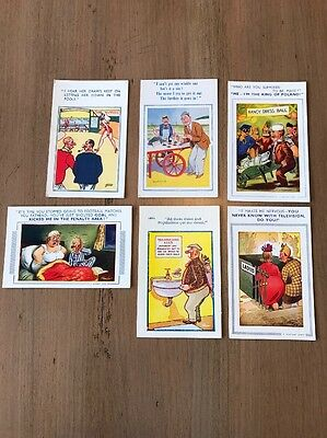 Bamforth Comic And Related Postcards (6 Postcards In Lot)