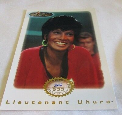 Star Trek Women Of Star Trek In Motion Archive Collection Gold 4 Lt Uhura
