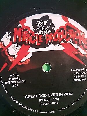 Miracle Production Great God Over In Zion / Starvation Boston Jack