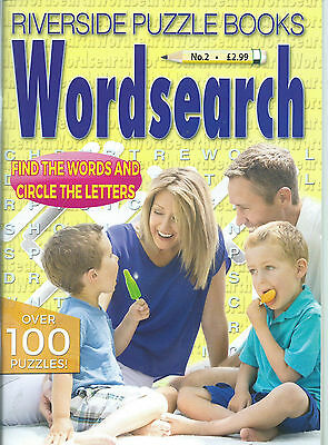 3 Bumper Word Search Magazines Most With 100+ Puzzles Solutions In Back (Set 55)