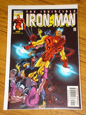 Ironman #33 Vol3 The Invincible Marvel Comics October 2000