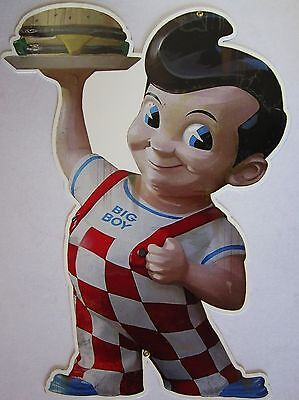 "Bob's Big Boy Metal Sign (24"" tall)"