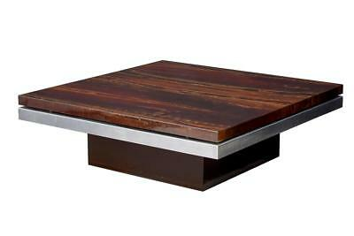 1970's DECORATIVE MODERN COFFEE TABLE BY MAISON JANSEN