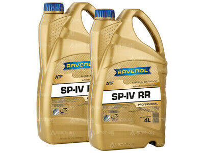 8 (2x4) Liter RAVENOL ATF SP-IV RR Automatikgetriebeöl Made in Germany