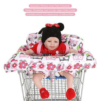 Shopping Cart Cover High Chair Mat Baby Infant Toddler Cushion Shoulder Bag C0Q0