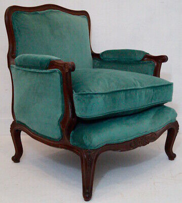 An Antique French Louis XV Bergere Armchair inc Reupholstery (exc. fabric)