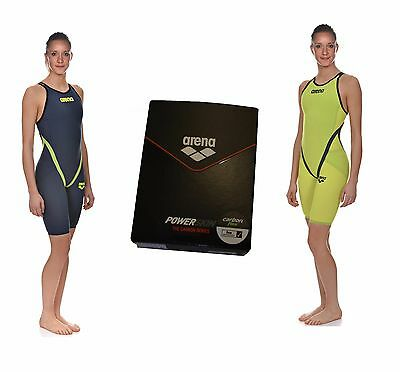 Arena Women  Powerskin Carbon Flex Open Back Fbslo  1A653 Fina Approved