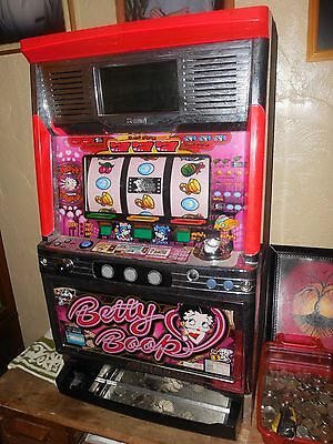 Ultra Rare! Betty Boop Real Jackpot Casino Machine! Excellent Condition! U.S.A.!