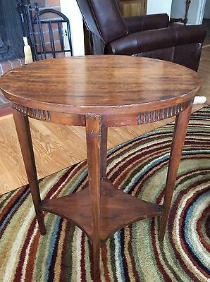 Antique Small Wooden End Table