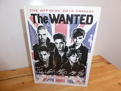 The Wanted.  Official 2013 Annual
