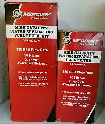 Mercury OEM Water Separating Fuel Filter 35-8M0082291