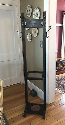Mission Arts And Crafts Style Coat Rack Umbrella Stand