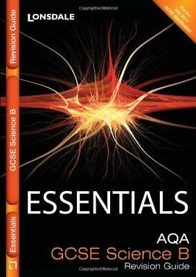 AQA Science B: Revision Guide (Collins GCSE Essentials) by Tolley, Viv Book The