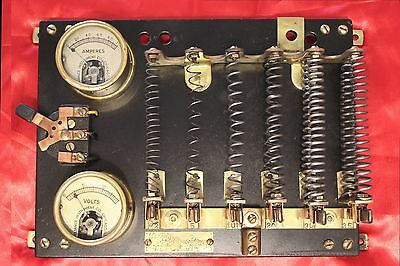 Vintage Crown Rheostat & Supply Co. - STEAMPUNK!!! - 1916 - LQQK!!!