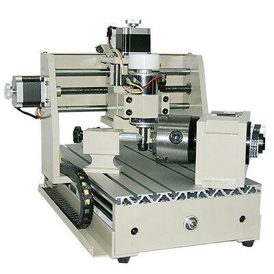 4 Axis Engraver CNC Router Machine Engraving Milling Machine Wood Carving 3020T