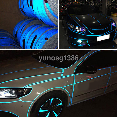 Useful Auto Car Warning Reflective Decor Tape Sticker Safety Mark Decal Strips