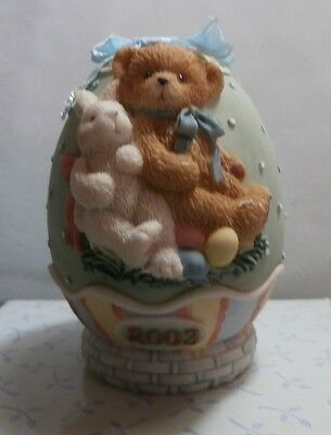 "Cherished Teddie "" Easter Egg - Dated 2003 "" 110448  Mint In Box"