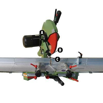 Orientable Mitre Saw Frame Wood Cutting 350 Cornici 220V Made In Italy