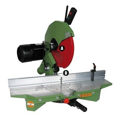 Circular Mitre Saw Frame Wood Cutting Professional Pegic Gp 300 Rt Made In Italy